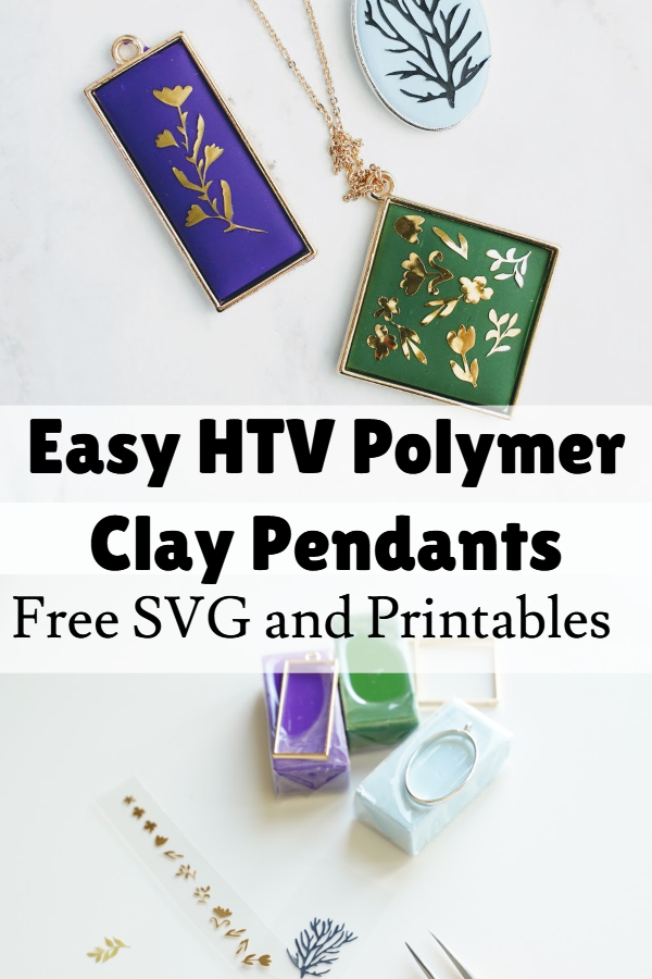 DIY Polymer Clay pendants