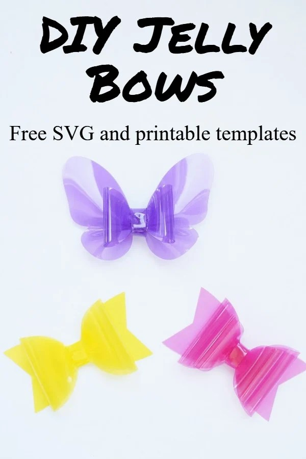 jelly bow templates