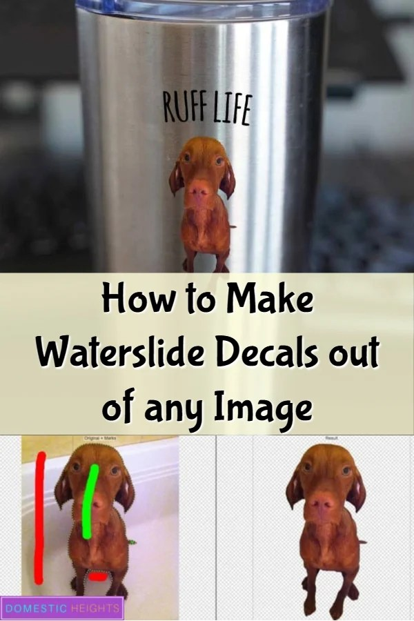 how to make waterslide decals
