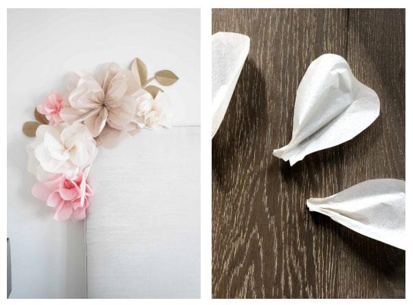 easy tissue paper flower