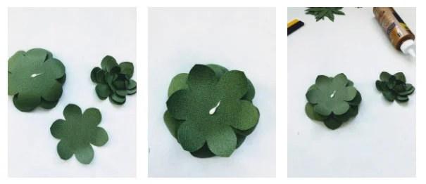 diy paper succulents