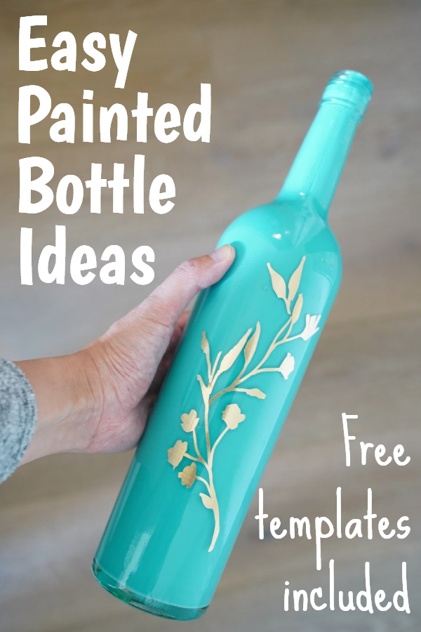 glass bottle crafts for home decoration