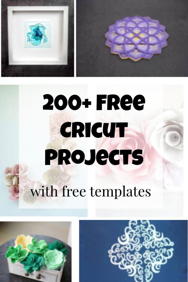 free cricut templates