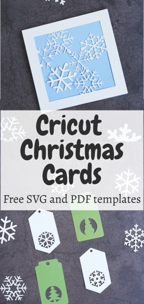 holiday card svg free