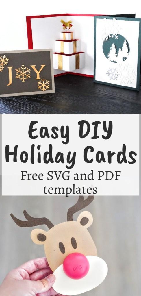 free christmas card svg files for cricut,