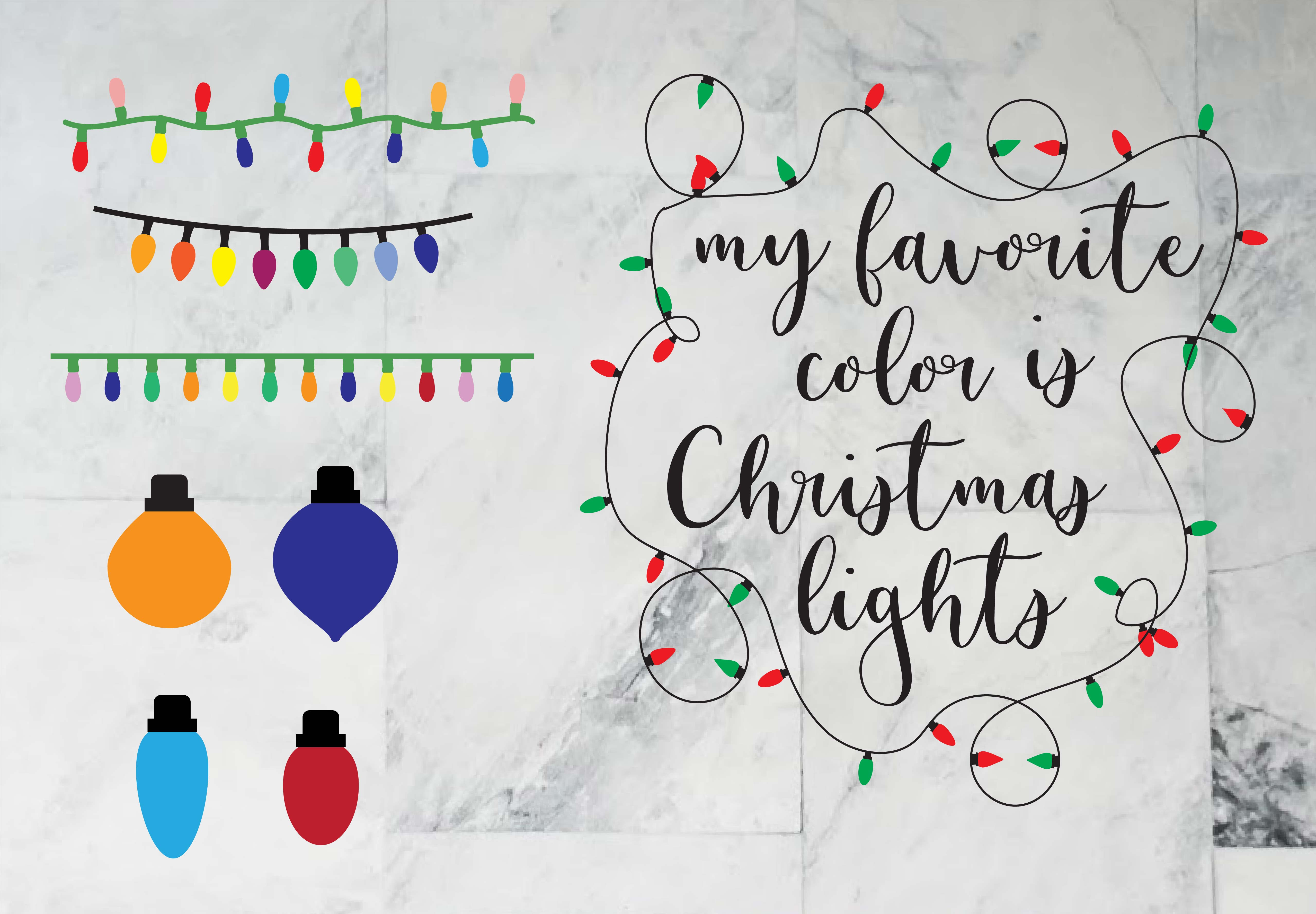 5 Free Christmas Lights Svg Templates Domestic Heights
