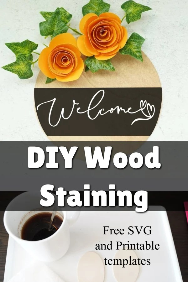staining wood with coffee