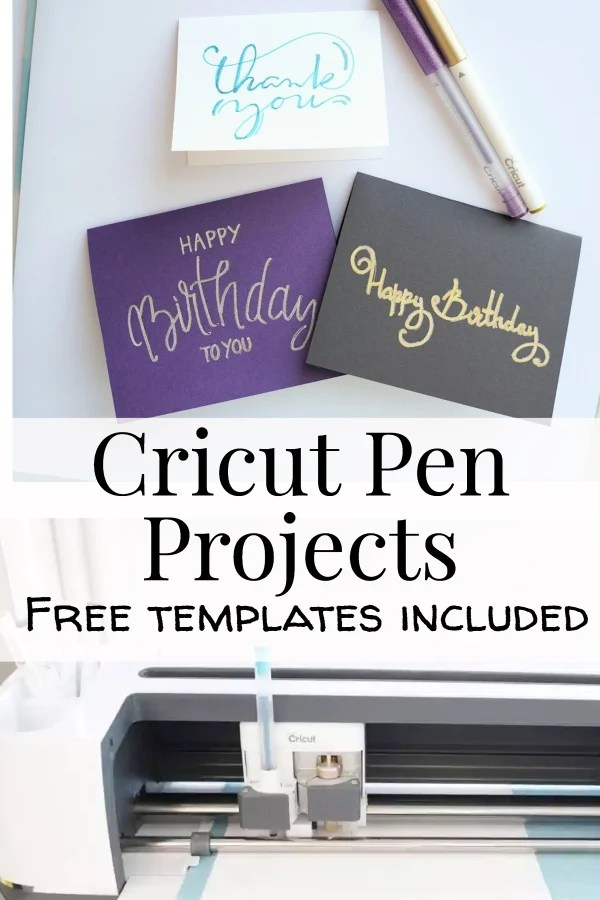 cricut drawing projects