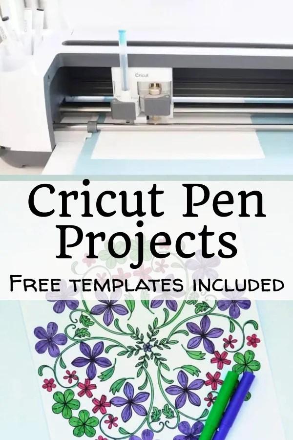 cricut pen projects