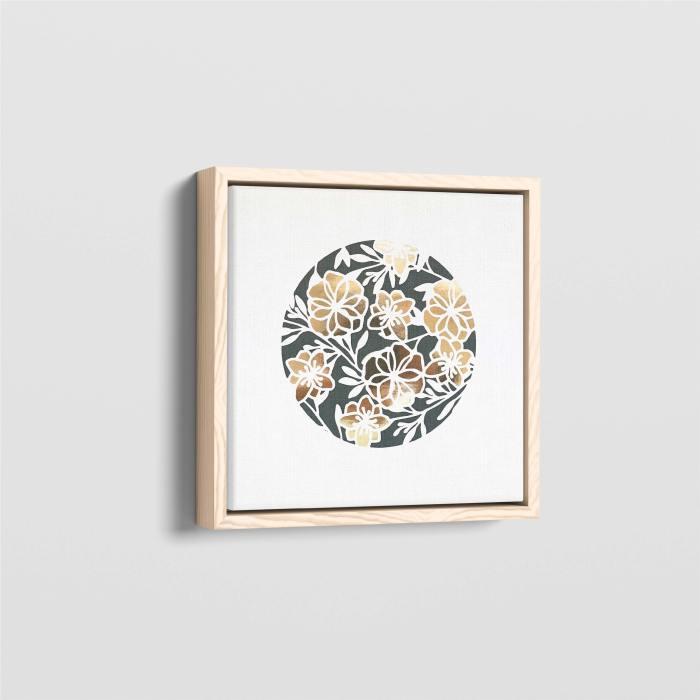 Floral Circle Monogram