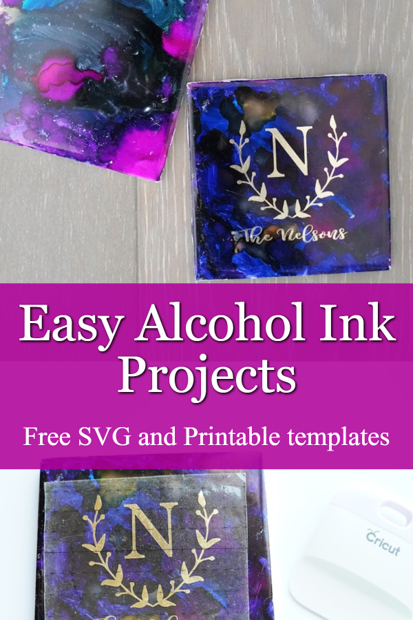 alcohol ink projects