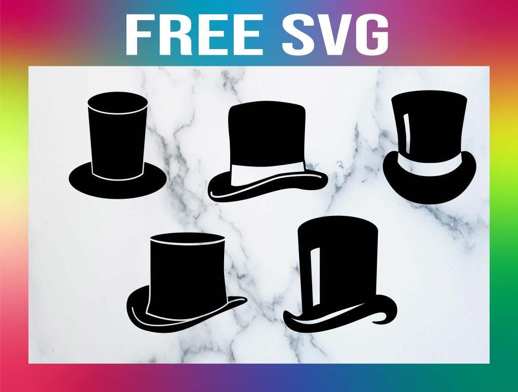 Free Top Hat SVG