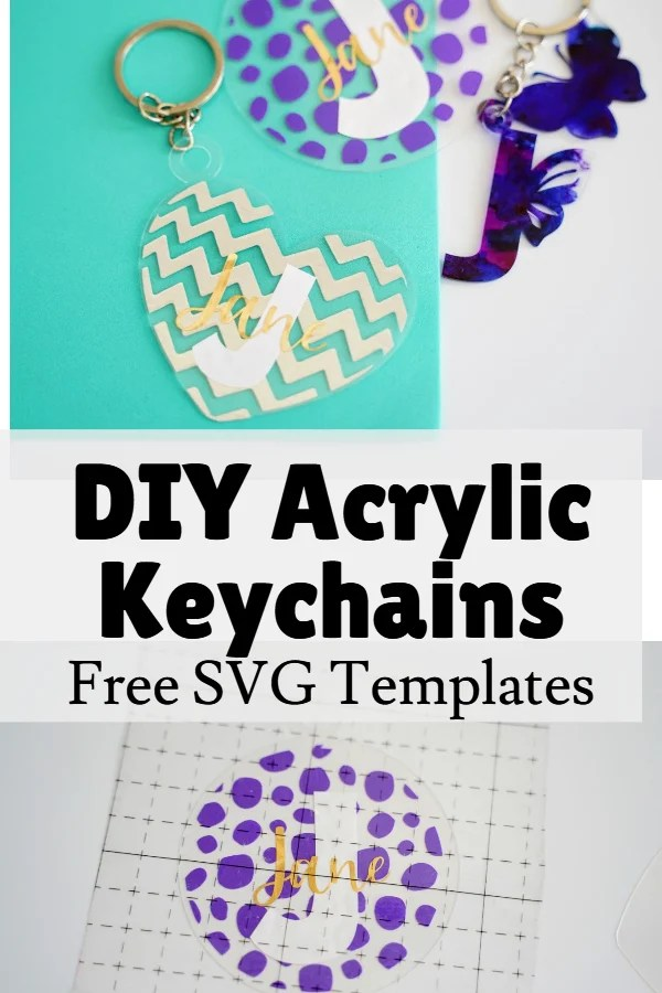 how to make acrylic keychains