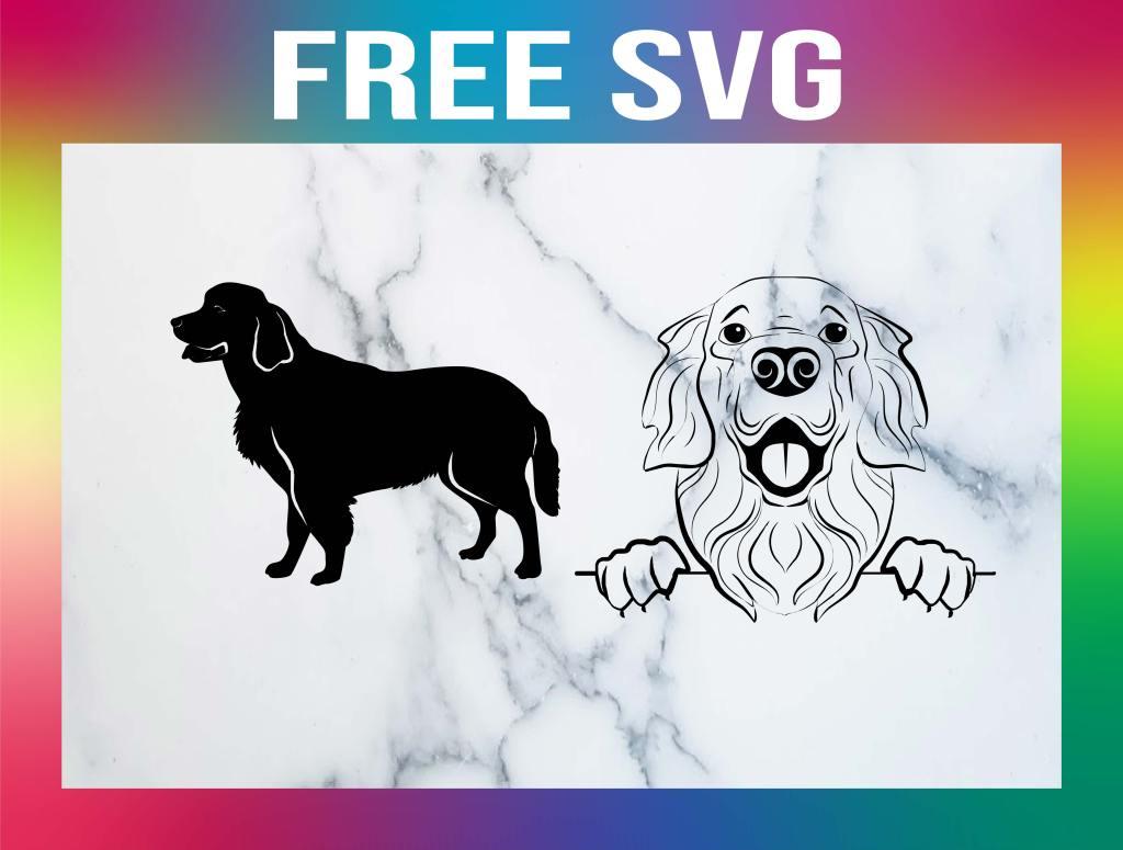 Free Golden Retriever SVG
