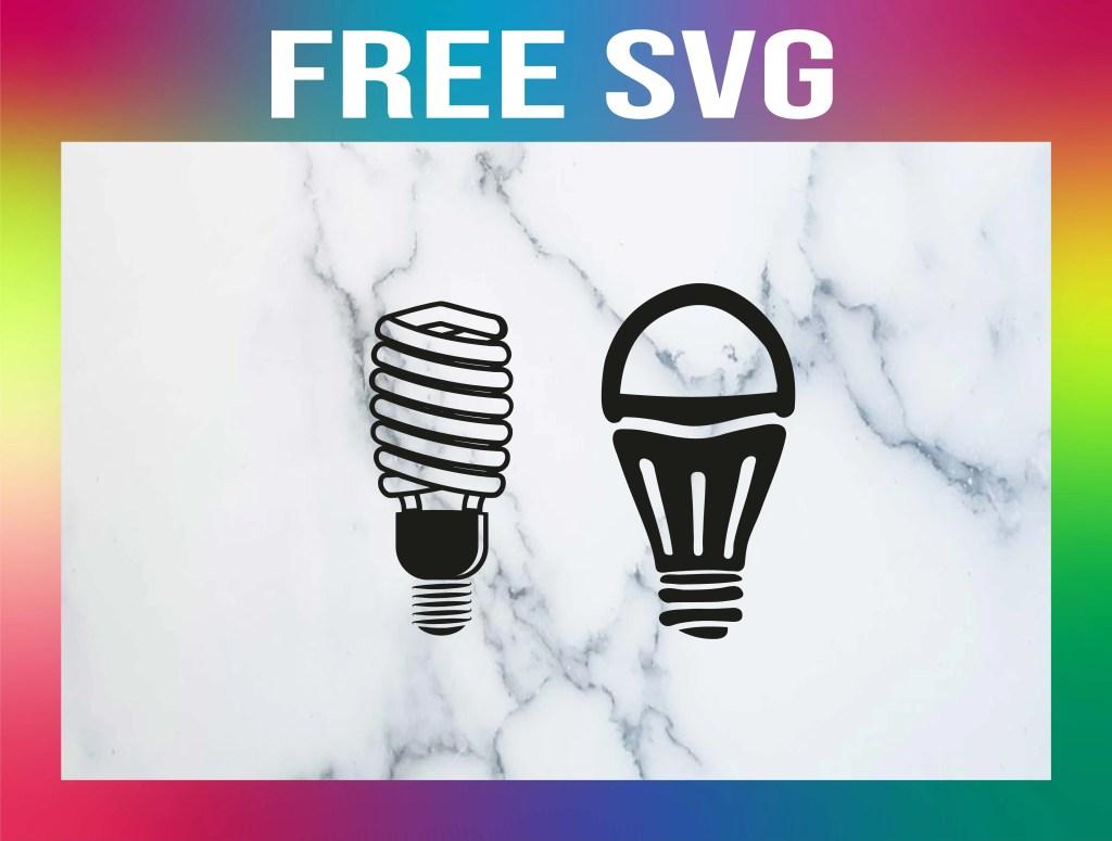 Free Light Bulb SVG