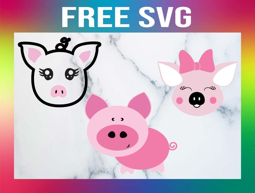 Free Pig SVG