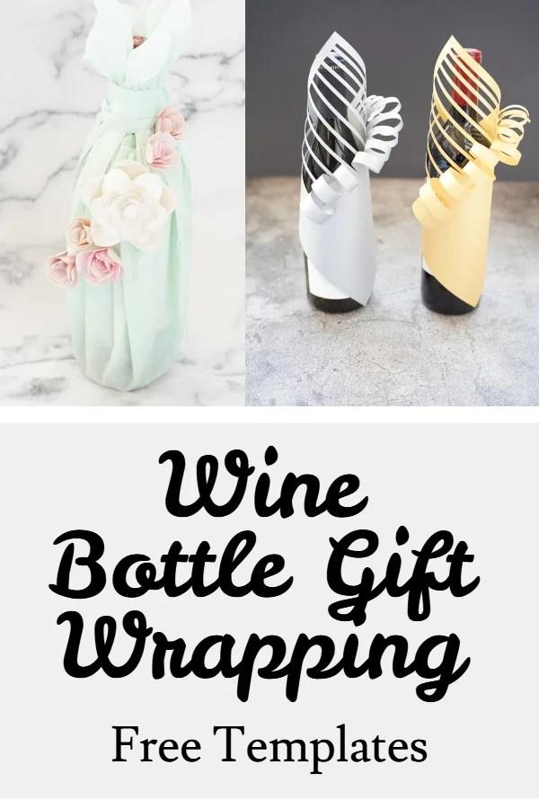 DIY gift wine