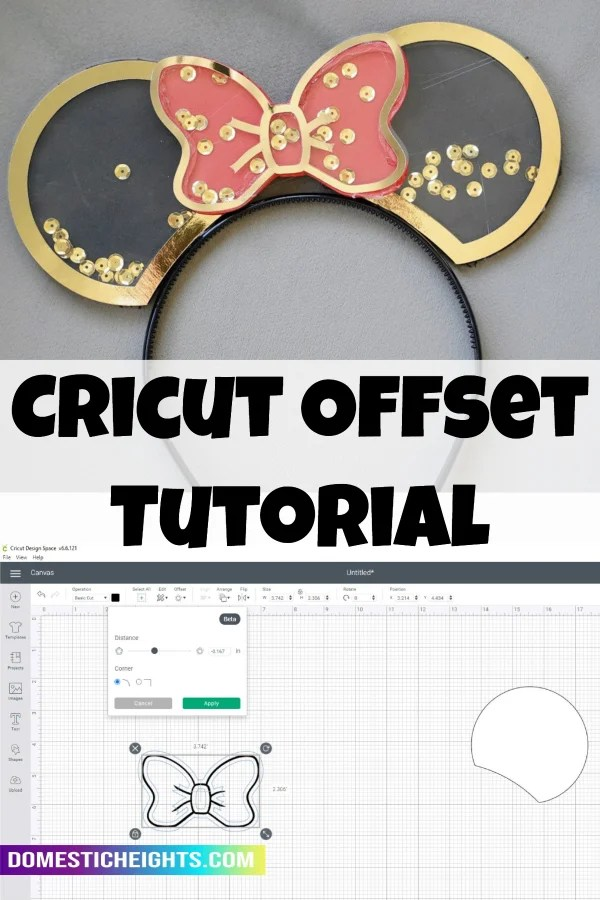 Cricut offset tutorial