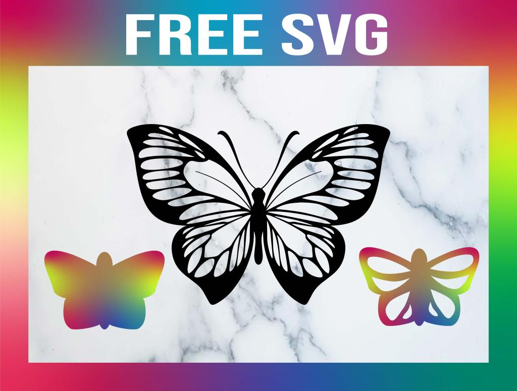 Free Monarch Butterfly SVG