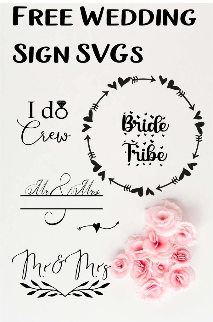 wedding svg free