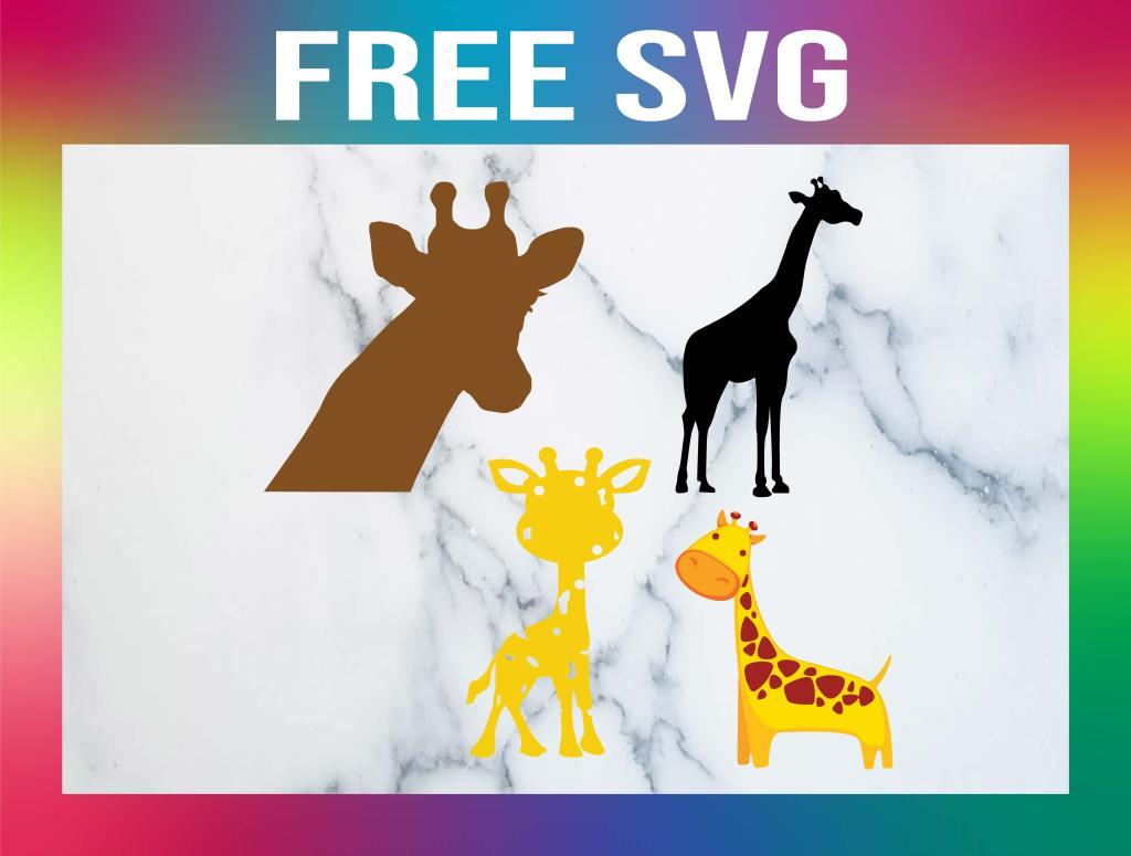 Free Giraffe SVG