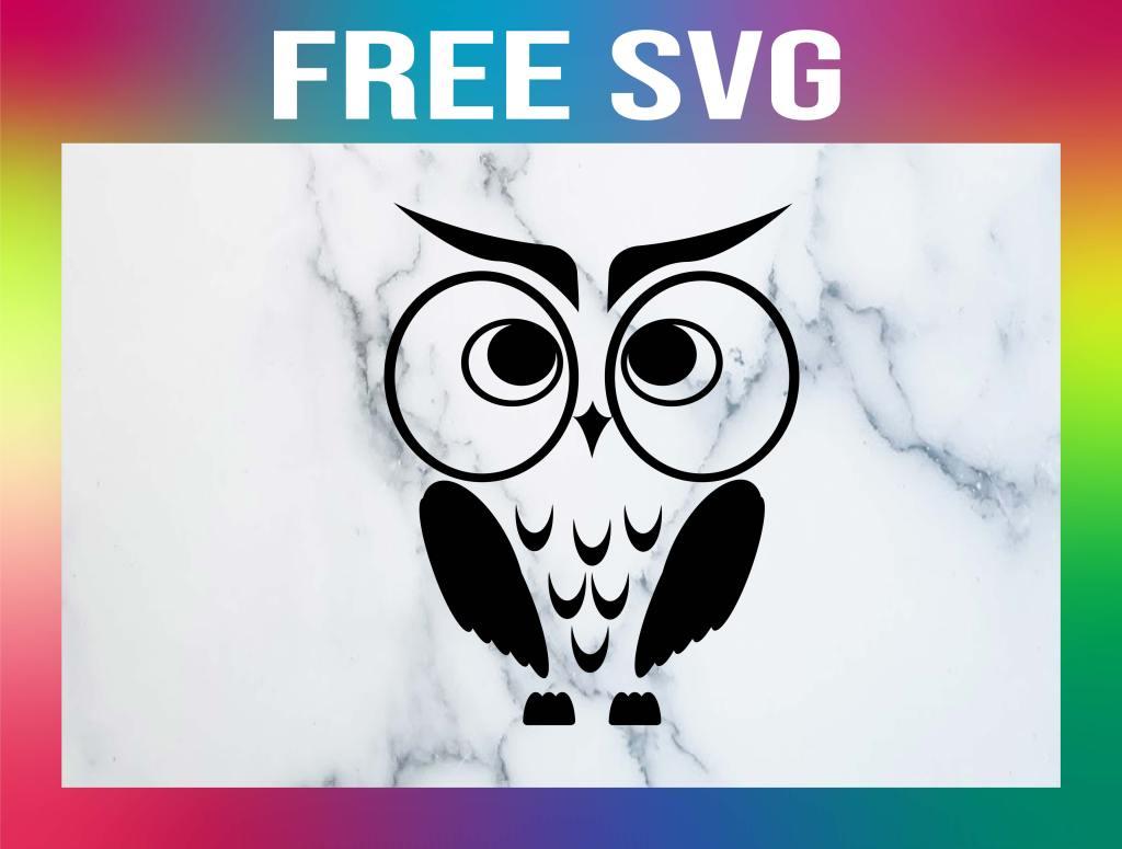Free Owl SVG