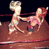Mud Wrestling Cake