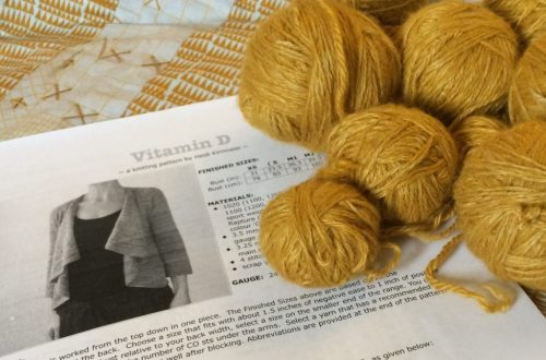 DOMESTIC STRATA // Mustard Fiber Co Yarn