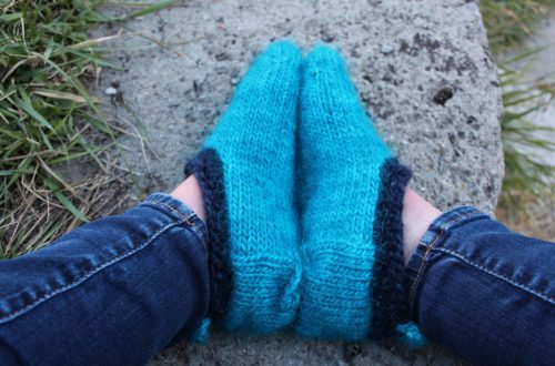 DOMESTIC STRATA // South Marysburgh Free Knitting Slipper Patterns