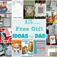 15 DIY Father's Day Gifts (mostly free ideas)