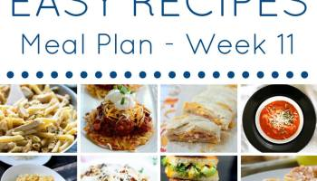 Easy dinner recipes meal plan week 9 domestic superhero easy dinner recipes meal plan week 11 forumfinder Gallery
