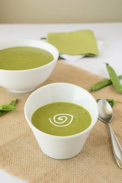 English Pea and Mint Soup