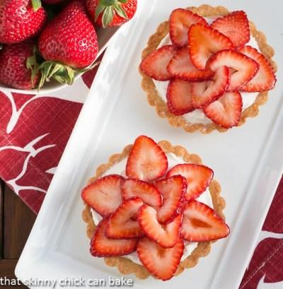 Fresh Strawberry Tartlets