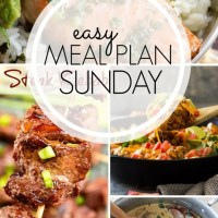EASY MEAL PLAN - Week 96