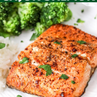 Air Fryer Salmon (cajun style)