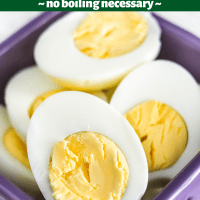 Air Fryer Hard Boiled Eggs (no boiling)