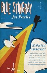 Blue Stingray Jet Packs Poster