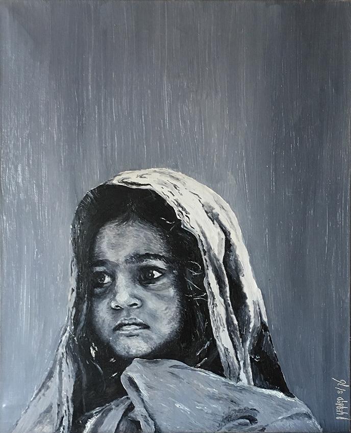 Enfant 03 oil 1976