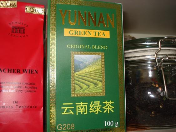 Green Yunnan w mojej kolekcji