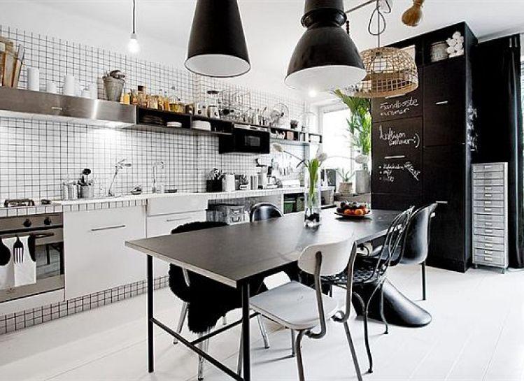 1czarno-bialy-apartament-kuchnia
