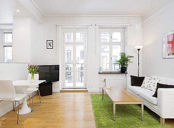 mały apartament