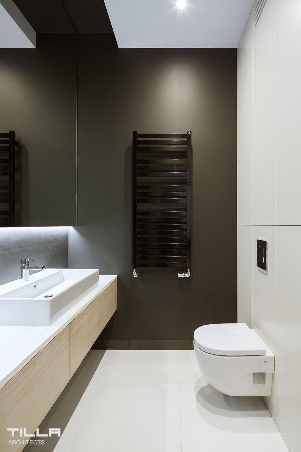 łazienka, łazienka w kontrastach