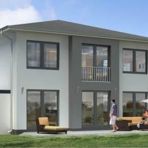 wizualizacja domu jednorodzinnego,