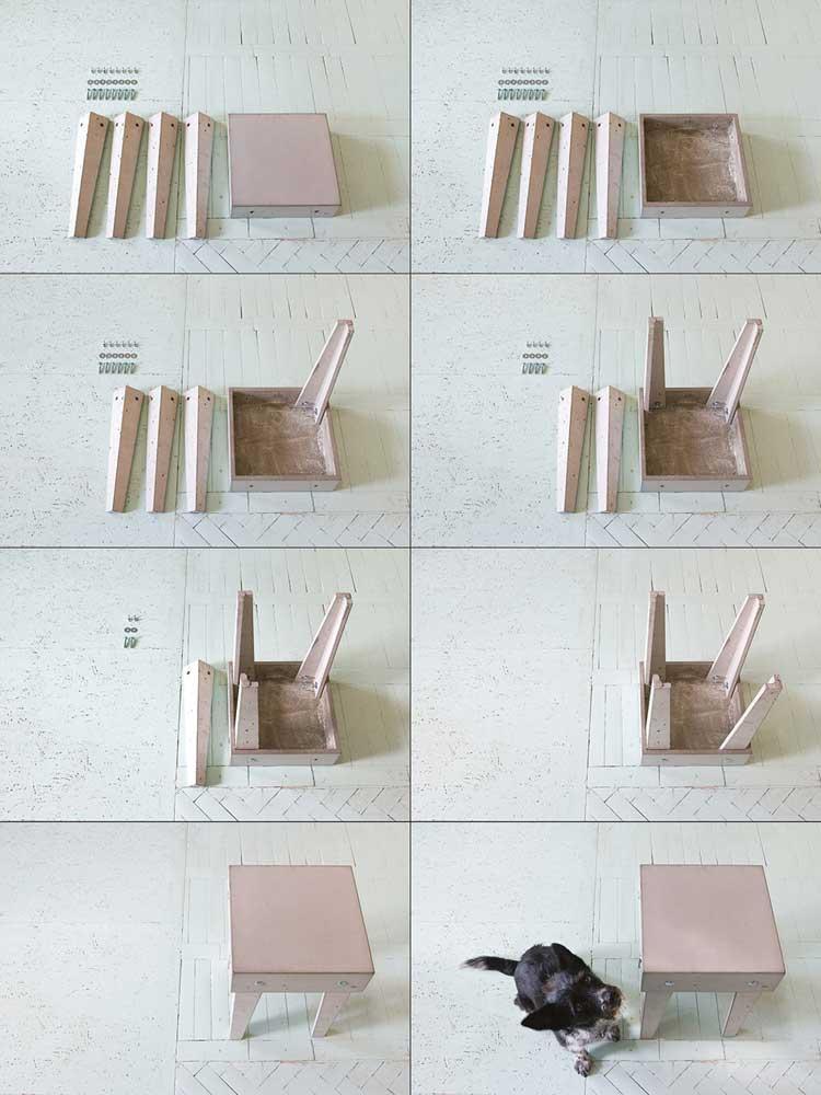 instrukcja montażu betonowego stolika kawowego