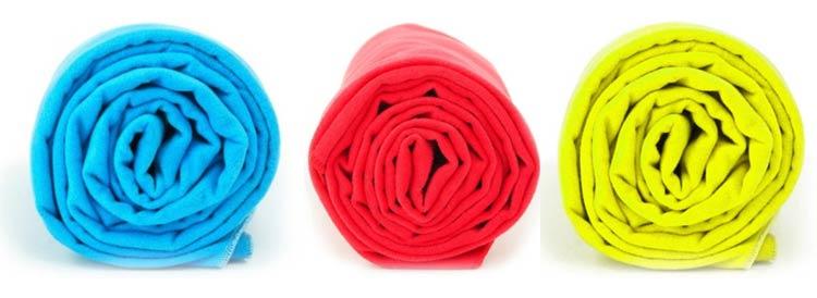 ręczniki w energetycznych kolorach
