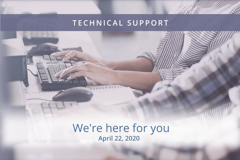Domico tech support is here for you