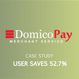 domico pay user saves on fees