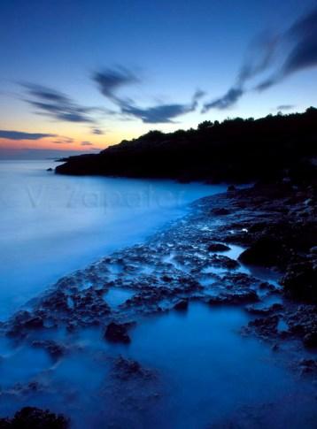 Anochecer en el Cap de Santes Creus