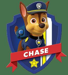 Chase, un chiot de la Pat Patrouille