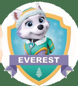 Everest, un chiot de la Pat Patrouille